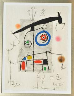 Joan Miro. 'L'Homme au Balancier'