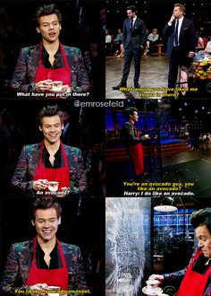 Harry Styles | on The Late Late Show | emrosefeld |