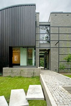 Situated in Warsaw, Poland, this beautiful open house is finished by Marek Rytych Architekt