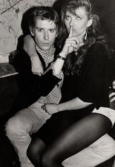 Richard Butler of The Psychedelic Furs with Bebe Buell Bebe Buell, Famous Groupies, The Psychedelic Furs, Punk Goth, Almost Famous, Post Punk, Cool, Butler, Rock N Roll