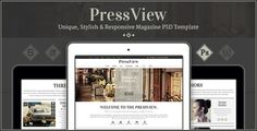 Review PressView - Clean and Modern Magazine Templateso please read the important details before your purchasing anyway here is the best buy
