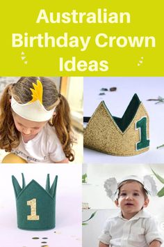 First Birthday Gifts, First Birthday Photos, Birthday Party Themes, Australian Party, Crown For Kids, Halloween Carnival, Cockatoo, Perfect Match, Children Photography