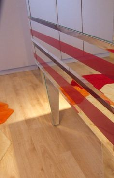 console table with mirror we design,we made
