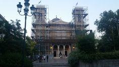 Santorini, Athens, Greece, Louvre, Building, Travel, Greece Country, Viajes, Buildings