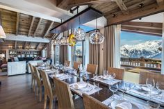 Chalet Cryst'ailes, Courchevel.