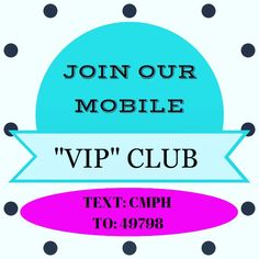 """Join our mobile """"VIP"""" club today for a chance to win a $25 gift card to Clothes Mentor Palm Harbor!! Being a """"VIP"""" means even BIGGER savings!! Members get early access to our fabulous sales and promotions. Become a """"VIP"""" today!! #clothesmentorpalmharbor #vip #sales #discounts #deals #fabulousfashion #shopping #shoptilyoudrop #borntoshop #retailtherapy #gottahaveit #loveit #resalerocks #resalenotretail #cmstyle #special #savings #inittowinit #win #giftcard"""