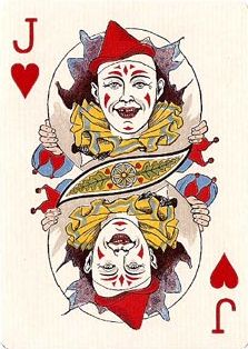 Playing Cards - Jack Of Hearts, Circus No.47 Playing Cards by United States Playing Card Company first issued in 1896 - playingcards, playingcardsart, playingcardsforsale, playingcardswiththefamily, playingcardswithfamily, playingcardsgame, playingcardscollection, playingcardstorage, playingcardset, playingcardsproject, cardscollector, playingcard, design, illustration, cards, cardist