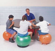 Fairport Entrepreneur Invents Chair For >> 57 Best Alternative Seating Images Classroom Classroom Decor