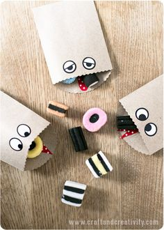 Monster bags - by Craft & Creativity