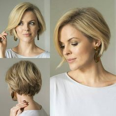 Bob Hairstyles For Fine Hair, Baddie Hairstyles, Cool Hairstyles, Black Hairstyles, Wedding Hairstyles, Bad Hair, Great Hair, Hair Today, Short Hair Cuts