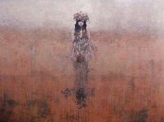 Summer - Acrylic on canvas. 48″ x 70″ by Federico Infante