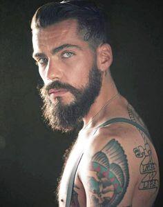 Suspenders beard