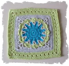 May 18th: Free SmoothFox's Starburst Flower Square by Donna Mason-Svara free crochet pattern on Ravelry at http://www.ravelry.com/patterns/library/free-smoothfoxs-starburst-flower-square