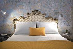 Guest room at the Lucia Nova Hotel in Valetta, Malta