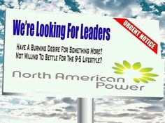 Join us! Team support and Awesome Training!  North American Power