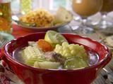 Beef Soup (Caldo de Res) Recipe : Marcela Valladolid : Recipes : Food Network