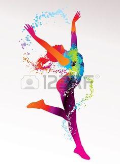 Siluetas Baile Imágenes De Archivo, Vectores, Siluetas Baile Fotos Libres De Derechos
