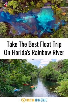 Enjoy an incredible, relaxing adventure this summer on the Rainbow River in Florida. Take a float trip! You'll love tubing or boating and enjoying the beautiful scenery. Rainbow Springs State Park, Rainbow River, Best Bucket List, Float Trip, Hidden Beach, Visit Florida, Beautiful Scenery, Summer Travel, Boating