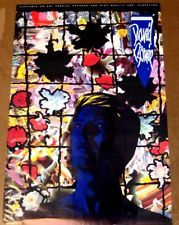 David Bowie 1984 poster TONITE mint condition