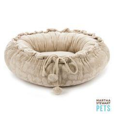 Martha Stewart Pets® Burnout Convertible Cat Bed | Beds | PetSmart
