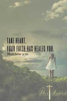 Bible verses about faith. Don't stop praying for your miracle! God Has given us a promise of our faith healing us. Her Sword Devotional Healing Scriptures, Scripture Verses, Bible Verses Quotes, Bible Scriptures, Bible Verses About Healing, God Healing Quotes, Christ Quotes, Shining Tears, Soli Deo Gloria