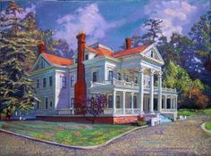 Dunsmuir-Hellman House, Oakland by Anthony Holdsworth