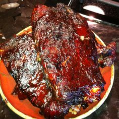 Smoker ribs sooo good and easy Grilled Fish Recipes, Healthy Grilling Recipes, Smoker Recipes, Meat Recipes, Gourmet Recipes, Healthy Snacks, Healthy Eating, How To Cook Ribs