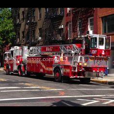 FDNY H&L 5 in Greenwich Village