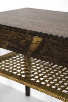 Severin Hansen bedside tables in rosewood at Studio Schalling