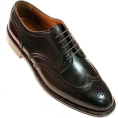 Alden Men's 2076 - Wing Tip Blucher - Color 8 Shell Cordovan | TheShoeMart.com