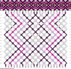 Muster # 93406, Streicher: 22 Zeilen: 18 Farben: 5