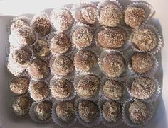 Leckere Marzipan - Nougat Pralinchen
