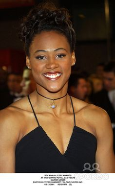 Marion Jones, born October 12, a track and field athlete, a professional basketball player.