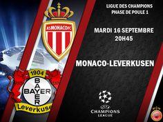 Diffusion chaine TV Monaco Leverkusen (16/09/2014) - http://www.actusports.fr/118129/diffusion-chaine-tv-monaco-leverkusen-16092014/