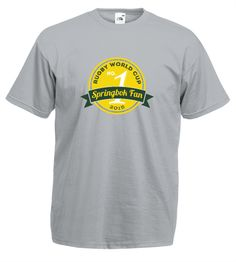 No.1 Springbok Fan - Limited Edition | Design4T.com Customise T Shirt, Tshirts Online, Fan, Mens Tops, Hand Fan, Fans