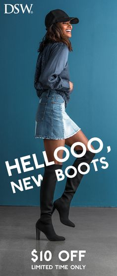 6e49eaa25c29 Fall back into boots for the cooler weather season – find all your faves at  DSW