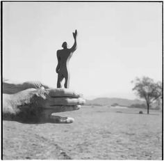 Le Corbusier's hand  the silhouette of the Modular while sighting  the Chandigarh plain and mountains of Shivalik ranges in 1951 source cca.qc.ca
