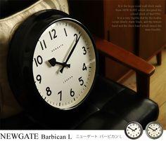 掛け時計 掛け時計 NEWGATE Barbican L