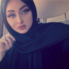 Image may contain: 1 person, closeup and indoor Stylish Girls Photos, Stylish Girl Pic, Muslim Girls, Muslim Women, Muslim Beauty, Beautiful Hijab, Beautiful Ladies, Arab Women, Islamic Fashion