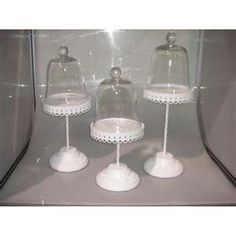 elegant cupcake domes....