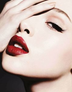 Beauty Tip -> For Fall  #4- Get a new red lipstick that complements your skin tone best, for gray, overcast weather. Joy suggest  Jane Iredale Passion Lip Fixation.