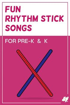 Rhythm Sticks Songs that Pre-K and Kindergarten Love - SillyOMusic Kindergarten Music, Preschool Music, Music Activities, Teaching Music, Movement Activities, Preschool Learning, Preschool Activities, Silly Songs, Baby Songs