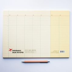 Paperways Weekly Planner / A4 Desk Notepad at Fox and Star