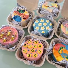 Pretty Birthday Cakes, Pretty Cakes, Cake Birthday, Korean Cake, Pastel Cakes, Frog Cakes, Cute Desserts, Just Cakes, Cafe Food