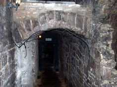 Scotland - Edinburgh (South Bridge) Vaults - Abandoned for more than 200 years - the underground tunnels and vaults were rediscovered in the 1980's. Many locals can tell you a story or two about the ghostly occurrences at this location.