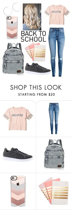 """""""Back to School #2"""" by morganrae02 ❤ liked on Polyvore featuring Hollister Co., adidas, Casetify and StudioSarah"""