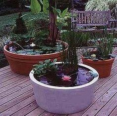 Designing Patio Ponds and Water Gardens | eHow.com