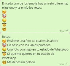 Cadenas De Retos Hot Para Whatsapp Juegos Para Whatsapp Fraces