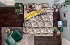 Parure de lit Monogami Yellow