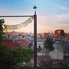 The feeling of a never ending summer in Barcelona